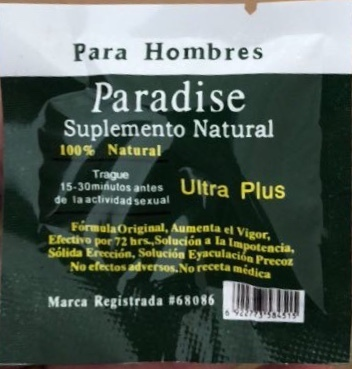 Paradise Ultra 60 PACKS / 60 PILL