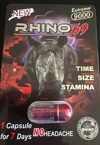 RHINO 69 9000 EXTREME 5 CARDS 5 PILLS